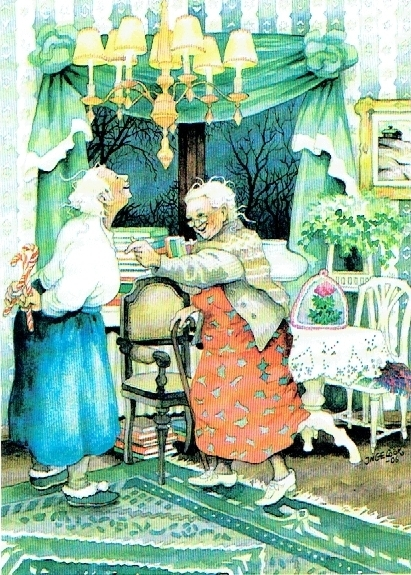 old ladies 7 - Zuckerstangen